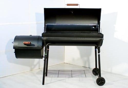 Smoker BBQ Grill Grillwagen Holzkohlegrill 95 cm Rost XXL - Unsere Bewertung
