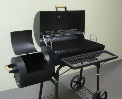 Profi XXL 32kg Smoker BBQ Grillwagen