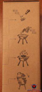 Räuchern mit Matador´s BBQ Smoking Chips - Anleitung auf Packung